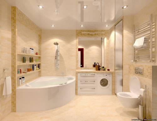Ванна 1.5 на 1.5 дизайн