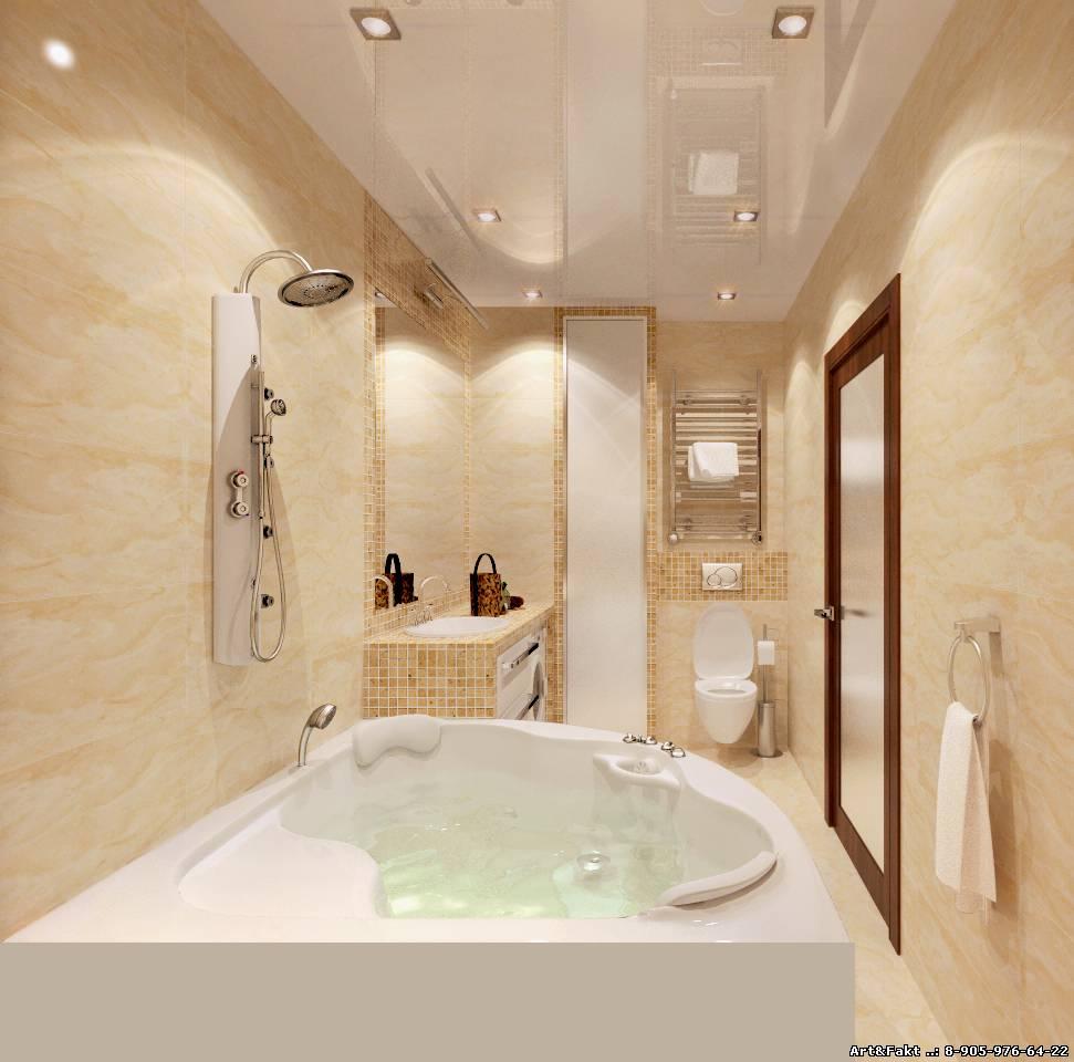 Ремонт дизайн ванна
